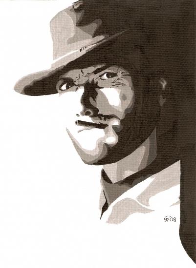 Clint Eastwood by vidaddict